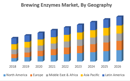 Brewing Enzymes Market, By Geography