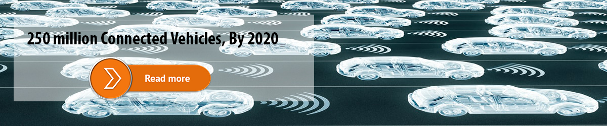 250 million Connected Vehicles, By 2020