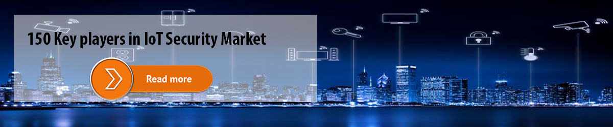 150 Key players in IoT Security Market
