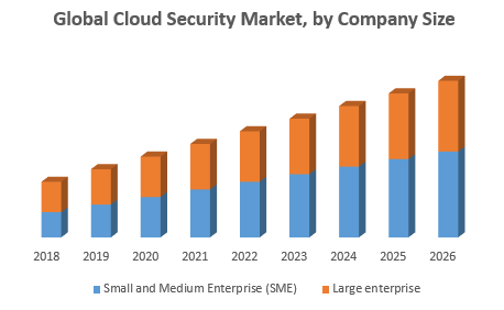 Global Cloud Security Market, by Company Size