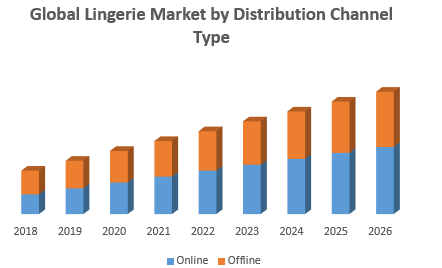 Global Lingerie Market by Distribution Channel Type