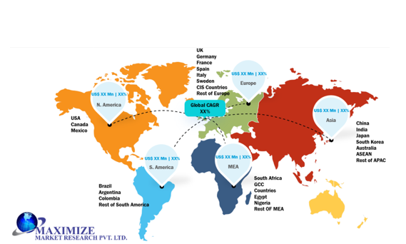Global Wearable Technology Market by Geographical