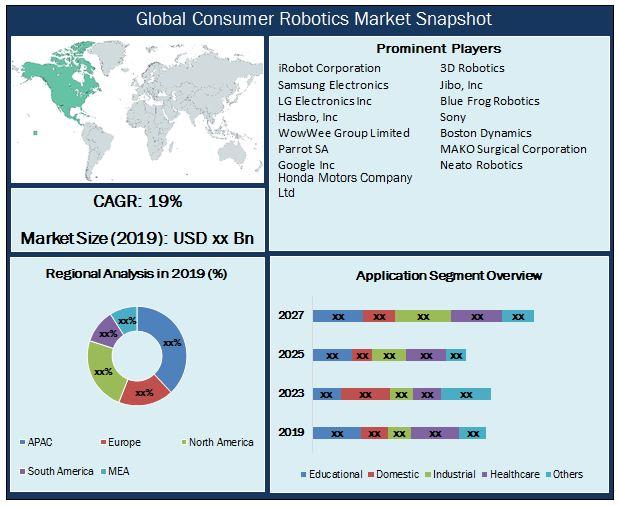 Global Consumer Robotics Market Snapshot
