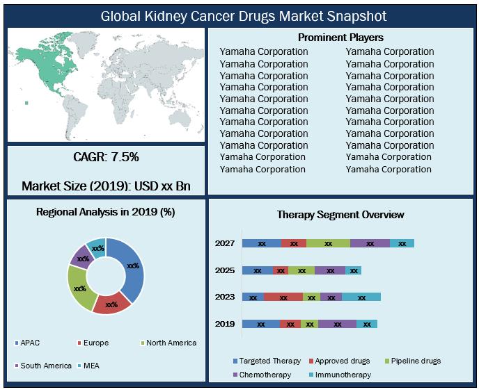 Global Kidney Cancer Drugs Market Snapshot