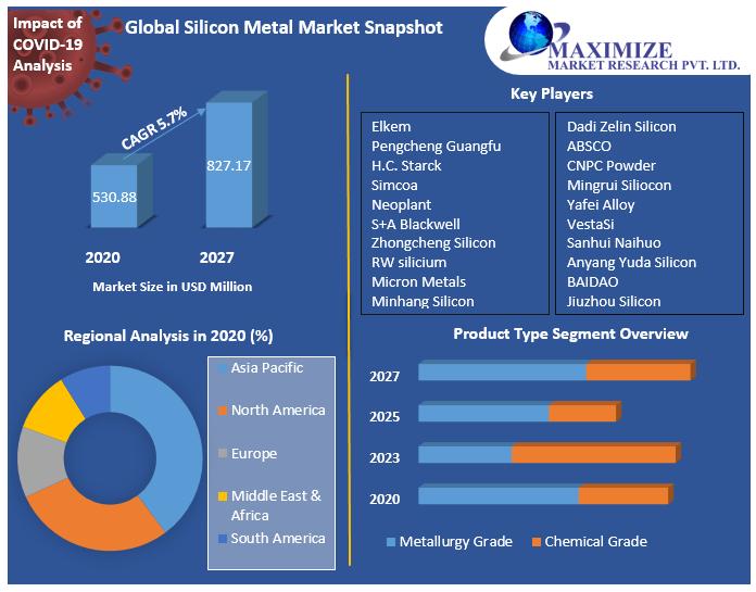 Global Silicon Metal Market Snapshot