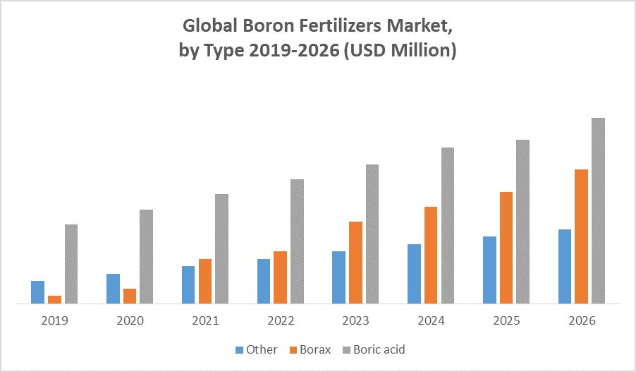 Global Boron Fertilizers Market by Type