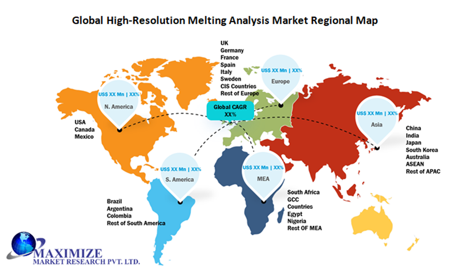 Global High-Resolution Melting Analysis Market Regional Insights
