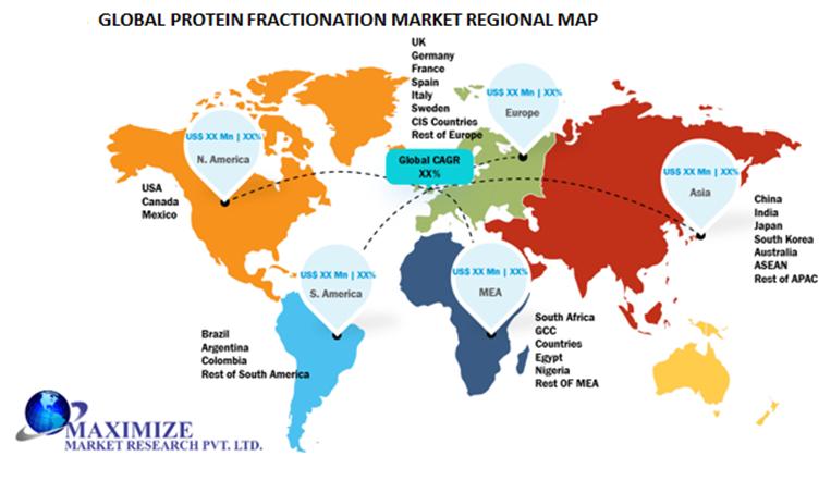 Global Protein Fractionation Market Regional Insights