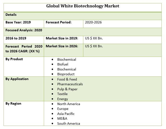 Global White Biotechnology Market 2