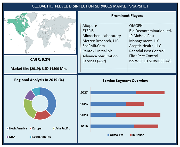 Global High-Level Disinfection Services Market