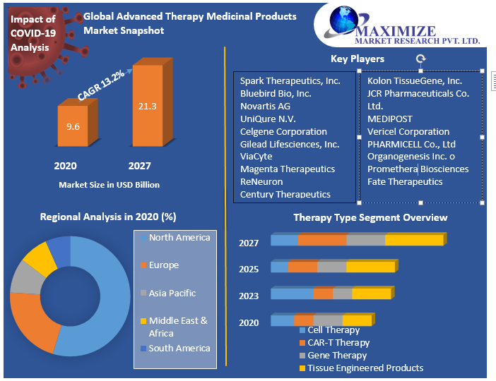 Global Advanced Therapy Medicinal Products Market